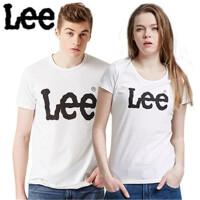 Lee 新品情侣经典版纯棉短袖T恤  夏季欧美简洁百搭