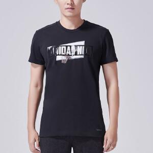 阿迪达斯NEO2017新款男短袖T恤CE1030