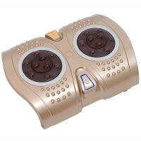 朗悦LY-617电动足底按摩器足疗机红外加热足底按摩器脚底按摩 震动按摩理疗仪足疗机