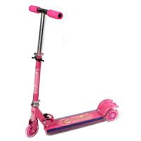 户外休闲娱乐闪光三轮儿童音乐可折叠脚踏滑板车
