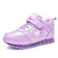 史努比童鞋冬季新款加绒棉鞋女童鞋儿童运动鞋加厚保暖休闲鞋