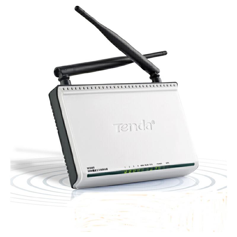 腾达w308r 300m无线路由器 加长双天线穿墙 无限wifi 上网