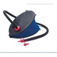 美国INTEX�I 69611 兰色脚踏充气泵 充抽气功能 3气嘴 脚泵