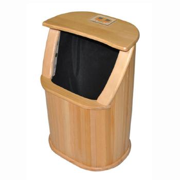 远红外线频谱足浴桶木桶泡脚木制足浴盆汗蒸桶电加热按摩足浴桶