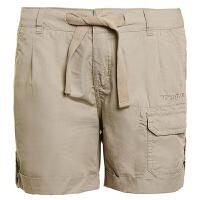 探路者TOREAD女款休闲裤 春夏款休闲徒步旅行轻质透气短裤 TAMC82540