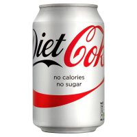 Coca-Cola Diet Coke 健怡可口可乐 330ml (比利时进口)