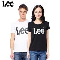 Lee 短袖T恤 大logo印花夏季情侣款T恤 L19192K99K11  L249342LQK14