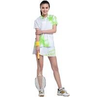时尚运动休闲羽毛球服饰 女式运动套装