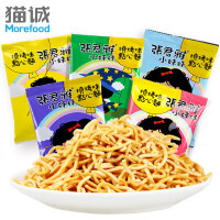 台湾进口 张君雅小妹妹 BBQ点心面 22g*5包 五连包 进口特产零食小吃