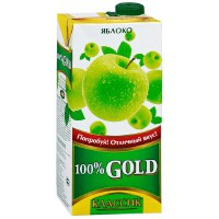 GOLD歌德纯苹果汁 0.95L  俄罗斯进口