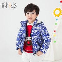 初语童装男童羽绒服2016冬装加厚保暖长袖百搭儿童羽绒服内胆