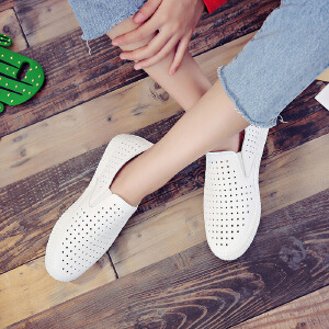 环球 小白鞋夏季女2017新款百搭韩版休闲鞋透气学生板鞋街拍帆布鞋