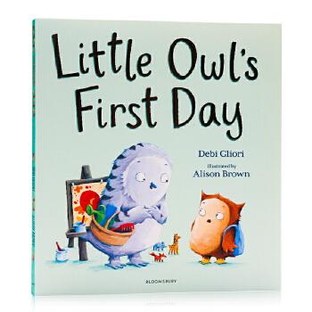 小猫头鹰上幼儿园的第 一天Little Owl's First Day