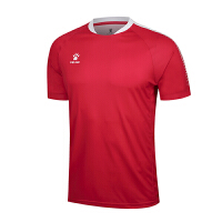 KELME卡尔美 K15Z201D 男式短袖光板足球服 比赛训练组队服 足球运动上衣