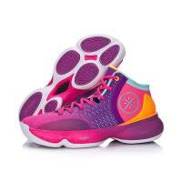 李宁篮球鞋2017新款第六人II韦德减震包裹夏季战靴男鞋运动鞋