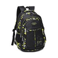 智尔娜新款中学生书包休闲旅行包尼龙双肩包男时尚电脑包女书包