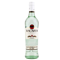Bacardi百加得白朗姆酒 750ml