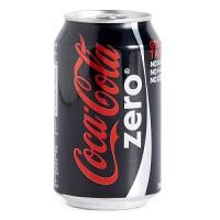 Coca Cola zero 零度可口可乐 Coke Zero 330ml*8罐 香港进口