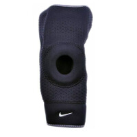 NIKE/耐克 开放式膝部保护套(单只装)弹力开放式护膝 膝关节束套 9337014020/9337015020/9337016020