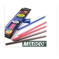 马可MARCO 书写铅笔 9002 三角杆学生铅笔 无铅毒 2H HB 2B