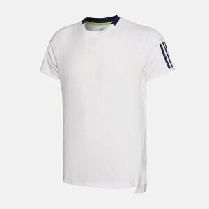 adidas阿迪达斯男装短袖T恤2017年新款网球运动服S98962