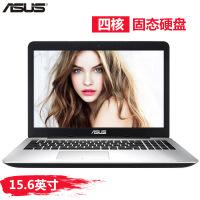 华硕(ASUS)A555QG9600 15.6英寸四核双显卡 办公商务游戏笔记本电脑 A10 9600 4G内存 128G固态 黑色