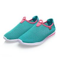 环球 夏季女鞋网布透气鞋 韩版潮流镂空低帮板鞋休闲鞋