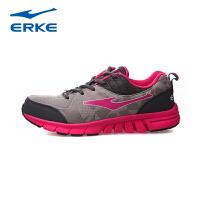 鸿星尔克erke轻便舒适防滑耐磨女常规跑步鞋