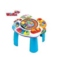 英纷早教益智音乐玩具 儿童多功能双语学习桌玩具台游戏桌