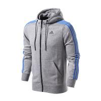 adidas阿迪达斯男装夹克外套三条纹运动服AB7407