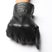 男士冬季加厚保暖 手套摩托车韩版手套分指 手套男