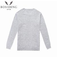 波司登(BOSIDENG)春季打底衫通勤圆领针织衫女士纯色毛衣B1606006