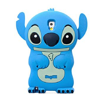 韩国 三星note3手机壳可爱卡通史迪仔 立体硅胶套 n9006保护套 潮 二