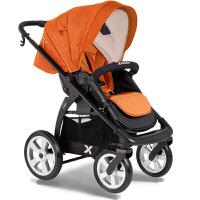 【当当自营】X-Lander Move 高景观婴儿推车 夏款 橘红色