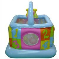 满百包邮INTEX 48473婴儿健身房 充气玩具 宝贝运动场游乐场海洋球池