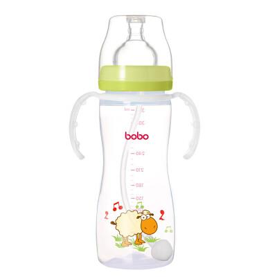【当当自营】乐儿宝(bobo) PP奶瓶330ml 绿色 IBP629-G