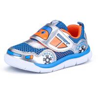 史努比童鞋男童运动鞋单网2休闲透气中小童儿童鞋子潮