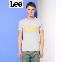 Lee男装 商场同款2017春夏新品男士字母印花短袖T恤L249342LQG5M