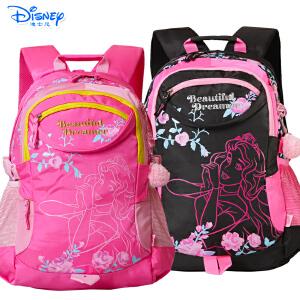 迪士尼小学生书包3-6年级男女米奇儿童休闲书包初中生双肩书包PL8076