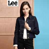 Lee 【新款】女士夹克 商场同款2017春秋女士修身牛仔夹克潮 L163821TV3DJ