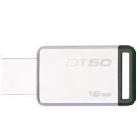 金士顿 DT50 16G u盘16gb USB3.1兼容usb3.0 DT50高速车载创意U盘刻字16G 绿色