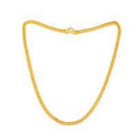 先恩尼黄金 足金项链  黄金项链 细版 女士项链 扁型项链 XZJA120915