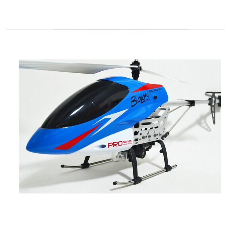 暴龙3.5通道遥控直升机 吹泡泡大飞机 带灯光 耐摔抗摔 k-905_蓝色