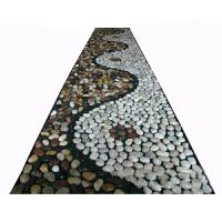 雨花石按摩垫鹅卵石脚底部老年人雨花石