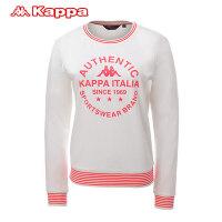 卡帕Kappa女装卫衣运动服运动生活K0562WT08-012