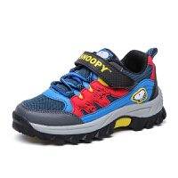 史努比童鞋男童儿童户外鞋防滑耐磨男童鞋青少年运动鞋