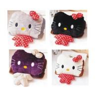 陆捌壹肆 hello kitty凯蒂猫 充电热水袋 防爆 暖手宝双插毛绒 全身款 1个装