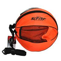 Star世达 篮球足球包 牛津布单肩包 带侧袋圆包 篮球E型包 BT113M
