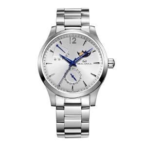 Seagull海鸥男士手表 商务精钢带男表 自动机械表816.423