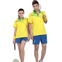 羽毛球服 男女运动服饰  T恤衫休闲  运动装